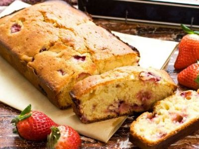 strawberry bread from The Jewish Kitchen