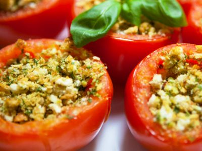 stuffed tomatoes from The Jewish Kitchen