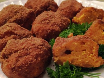 sweet potato balls from The Jewish Kitchen