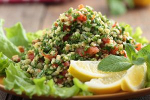 tabbouleh salad from The Jewish Kitchen