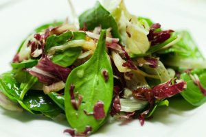 tossed green salad with herb vinaigrette from The Jewish Kitchen