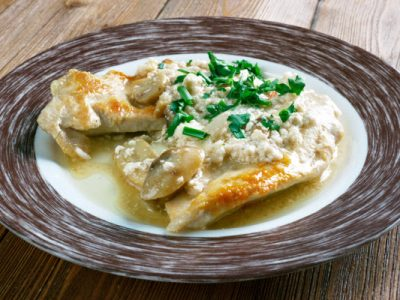 kosher veal scallopini
