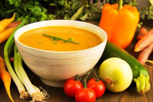 vegetable soup from The Jewish Kitchen