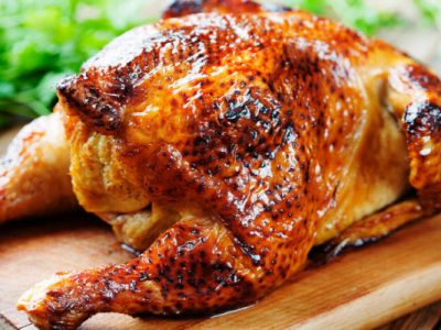 roast chicken in a hurry