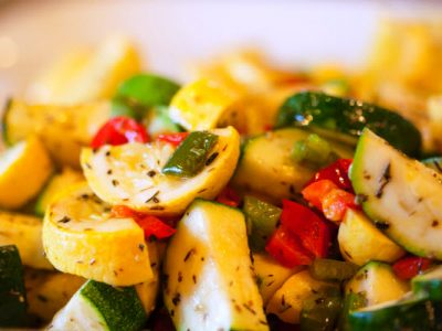 sauteed yellow squash and zucchini
