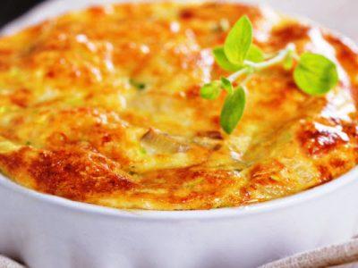 gloria's zucchini casserole from The Jewish Kitchen